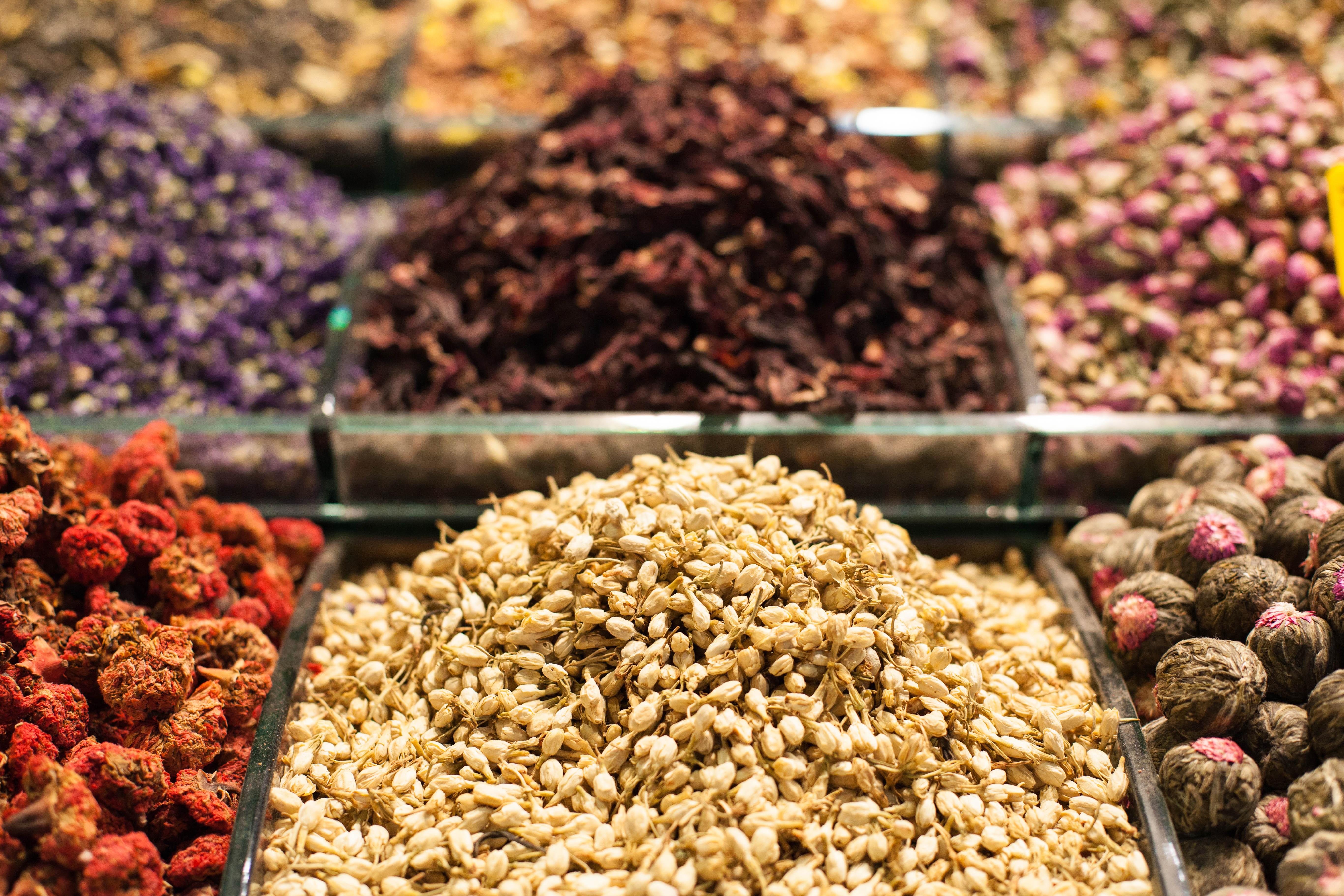 Tea herbs ... the garden of a soul